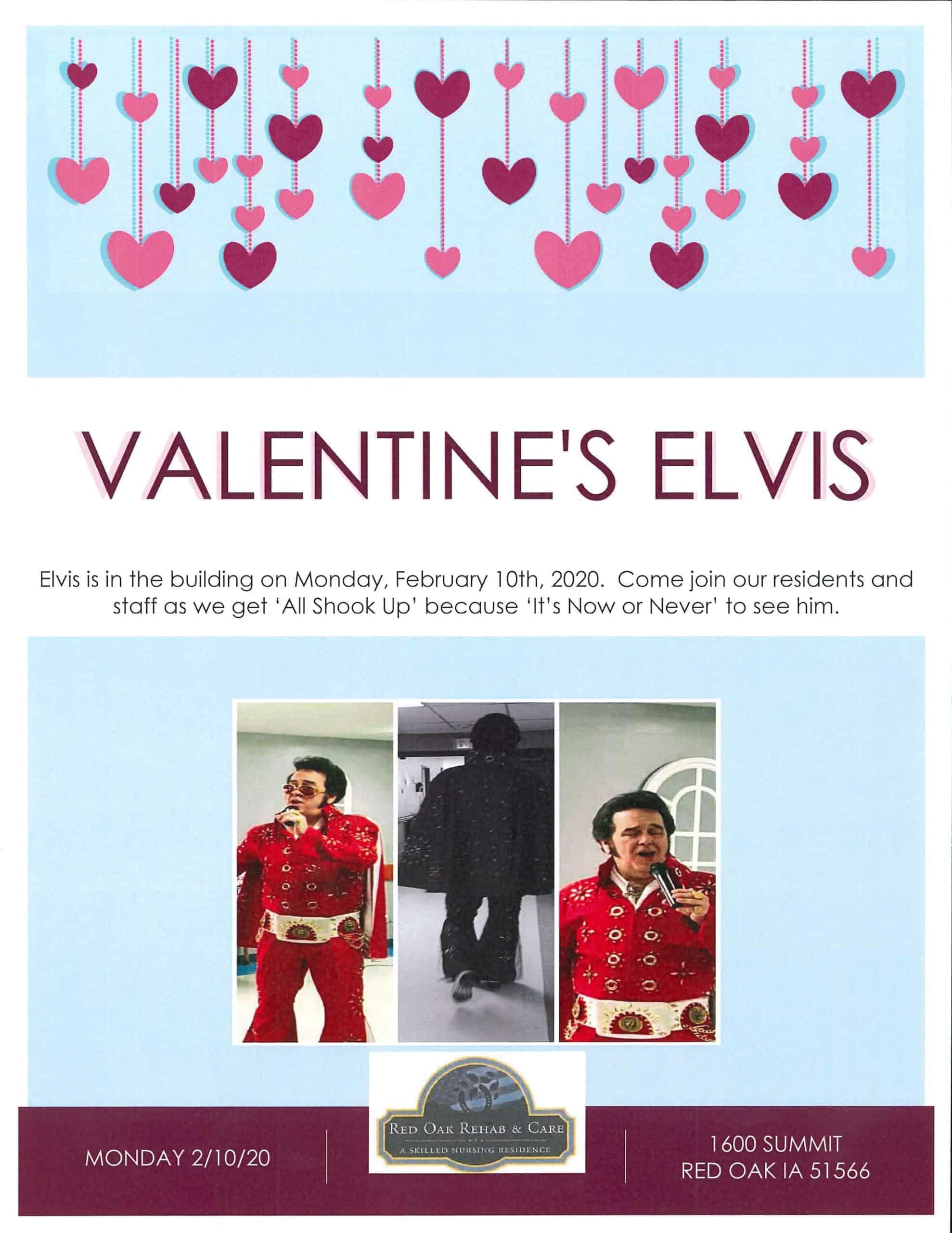Valentine's Elvis