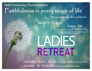 Faith Community Ladies Retreat