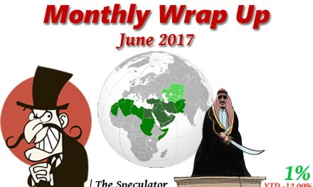 Speculator's Monthly Wrap Up – June 2017