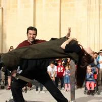 Brian Role & Lola Palmer at the Mdina Medieval festival