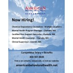 Abhs Now Hiring Peer Support Specialist Chehalis Outpatient Centralia Chehalis Chamber Of Commerce