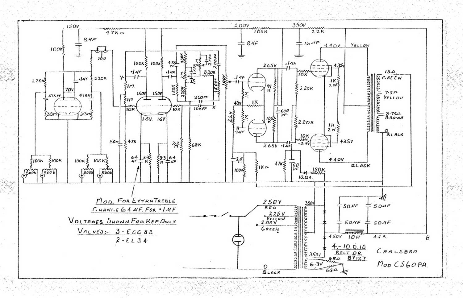 Pa Amp Wiring Diagram