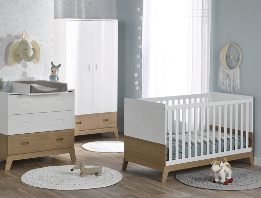 chambre bebe complete archipel blanc chene