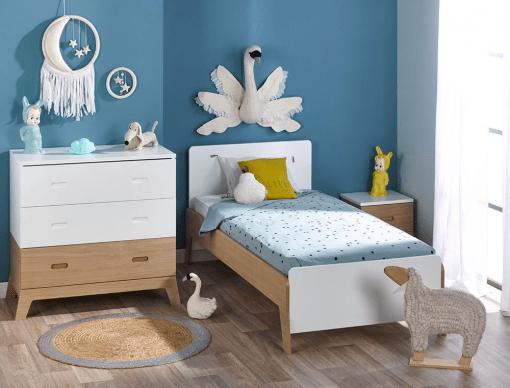 petite chambre enfant archipel blanc chene