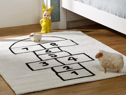 tapis enfant marelle 120x170