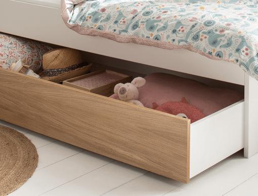 tiroir de rangement pour lit opus bois