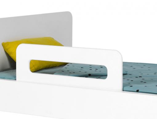 barriere de lit enfant blanc bali 70 cm