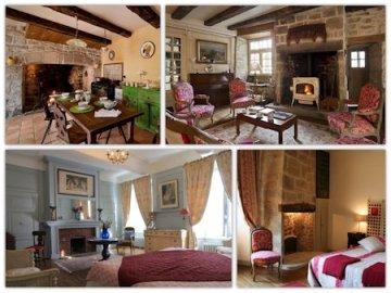 chambres d'hotes de charme en Correze, Maison Grandchamp, Treignac