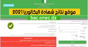 موقع نتائج شهادة البكالوريا