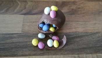 Easter eggs are not all theyre cracked up to be alternative its all a little egg citing homemade easter eggs negle Gallery