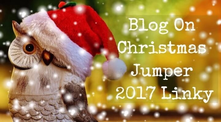 Blog On Christmas Jumper 2017 Linky