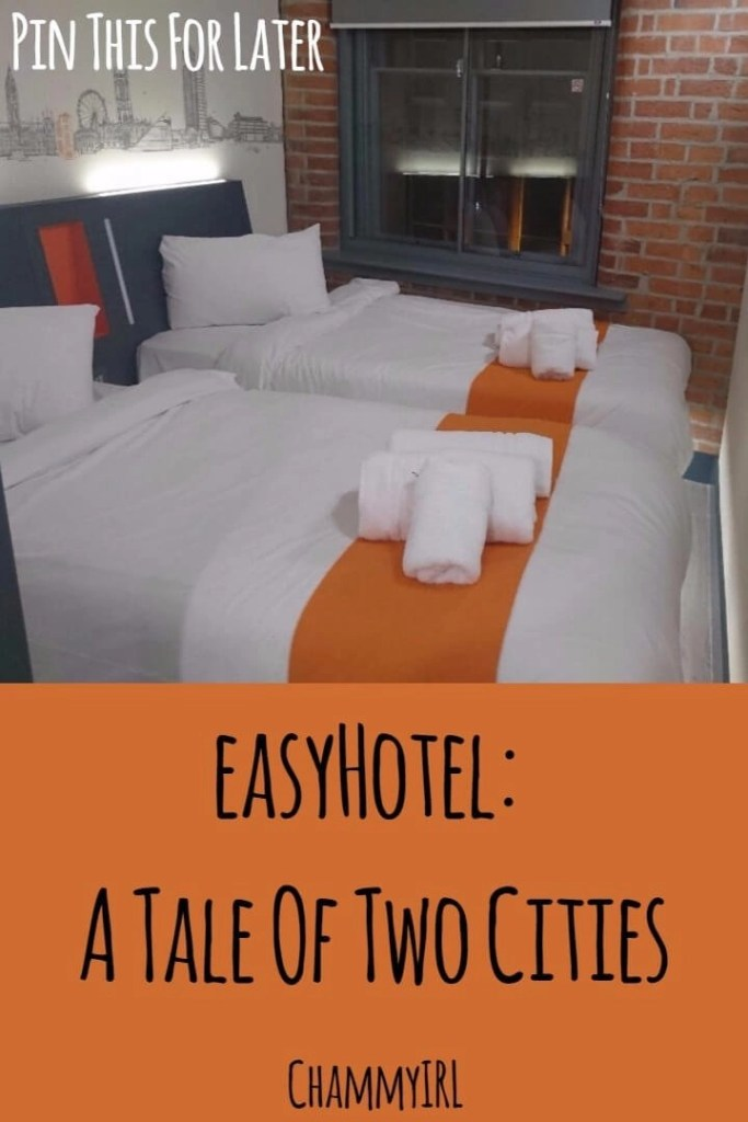 I recently stayed at not one but TWO easyHotels. One in London (Barbican) and the other in Manchester. Here are my thoughts.