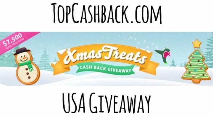 USA TopCashback Xmas Treats Giveaway 2017