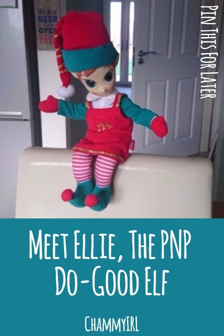 146dfcc8329cf We have a new visitor staying with us until Christmas. Ellie the Elf is a