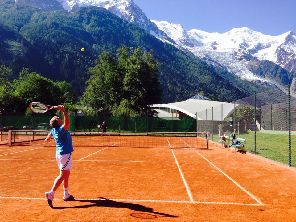 Tennis Chamonix Mont Blanc