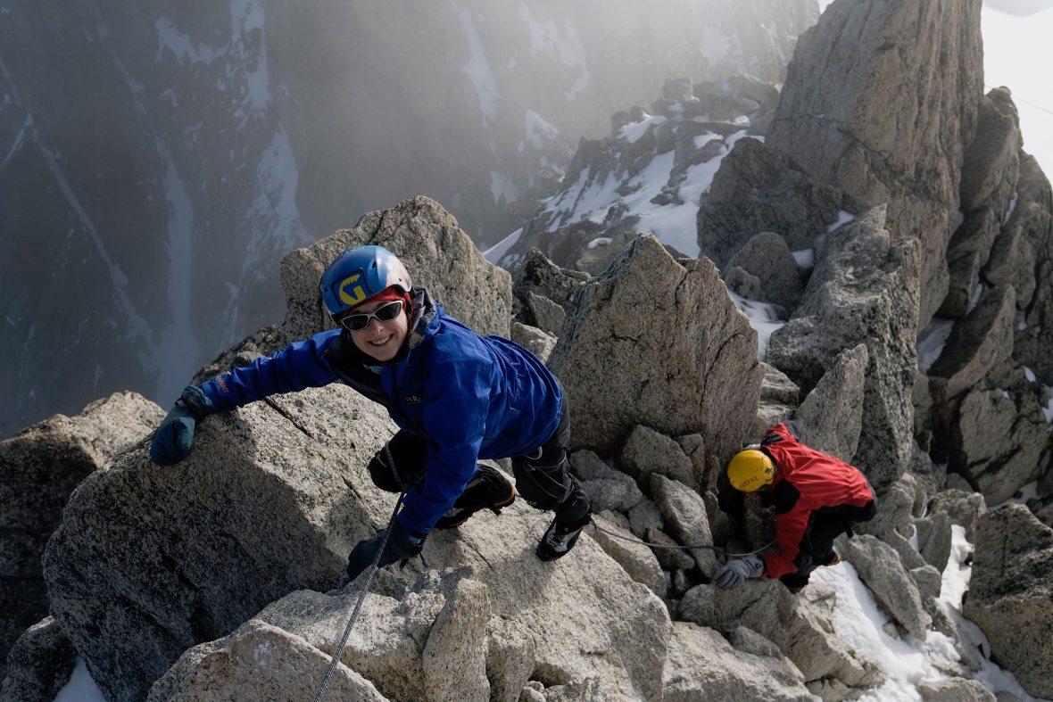Climbing Mont Blanc Chamonix