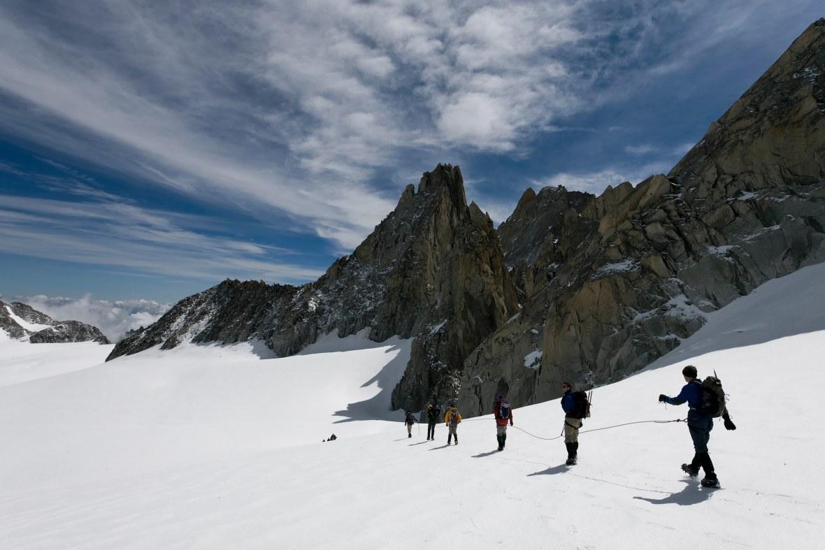 Mont Blanc High Mountain Treks