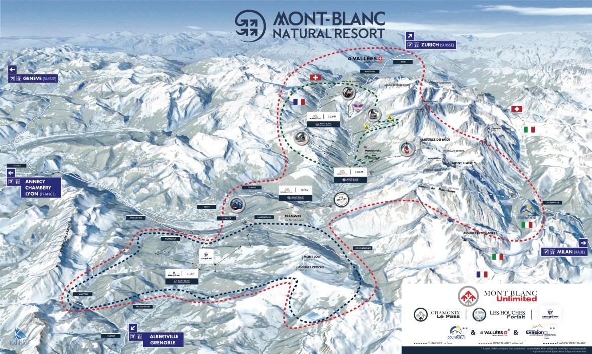 Mont Blanc Unlimited Ski Area