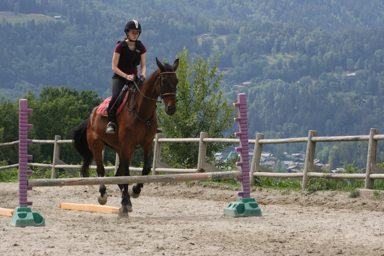 Horse Riding Chamonix Mont Blanc