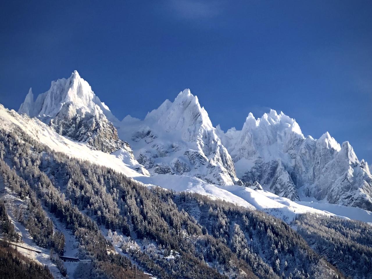 Chamonix Peaks