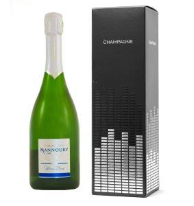 Coffret Fenêtre 1 bouteille Champagne Mannoury