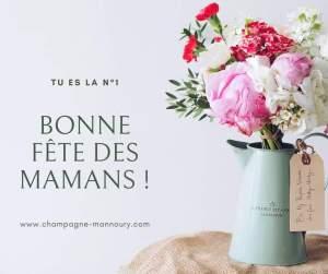 Champagne pour toutes les mamans