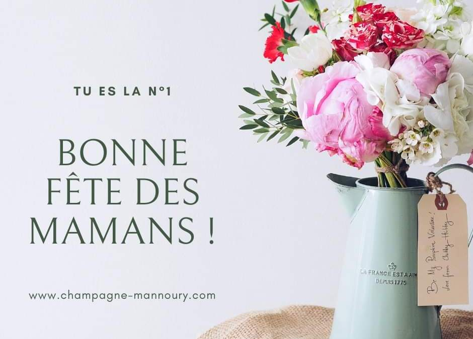 fête des mères avec du champagne Mannoury