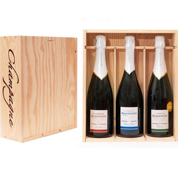 Coffret cadeau Fête de pères Champagne!