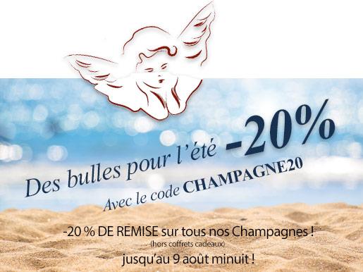 Bulles pour l'été offre -20 %