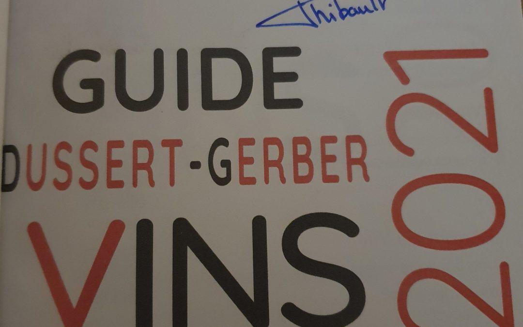 Guide Dussert Gerber 2021