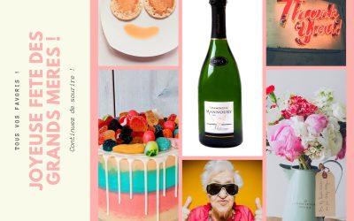 Champagne pour les grands-mères !