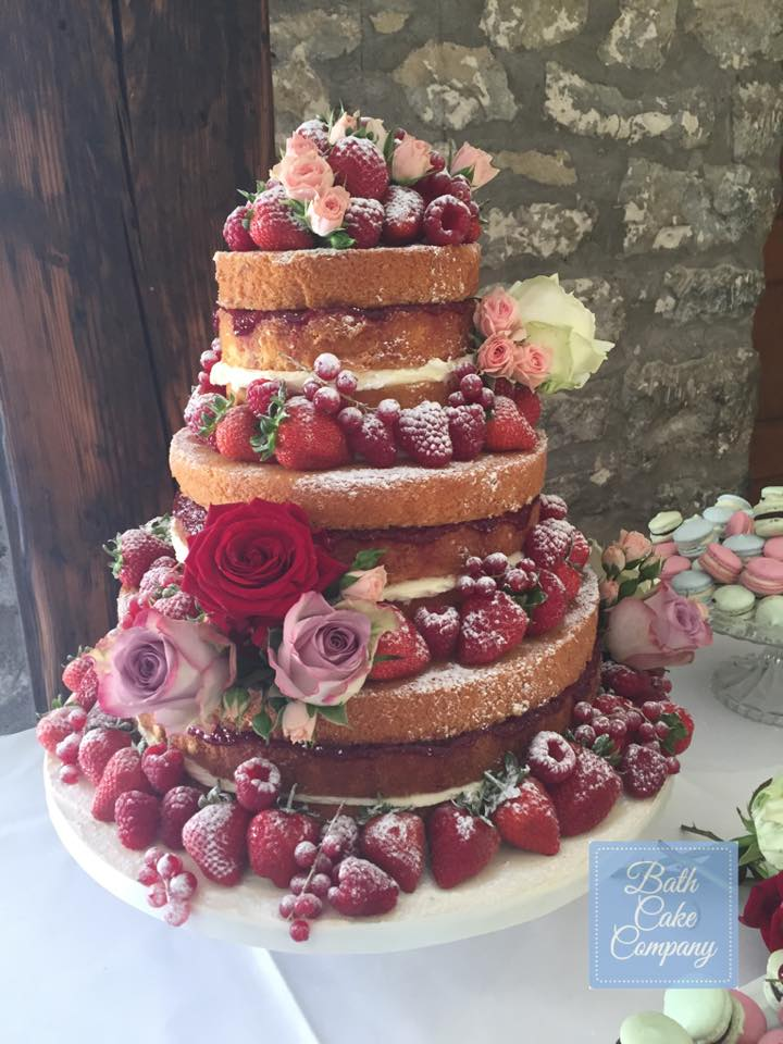 Stunning wedding cakes by the Bath Cake Company