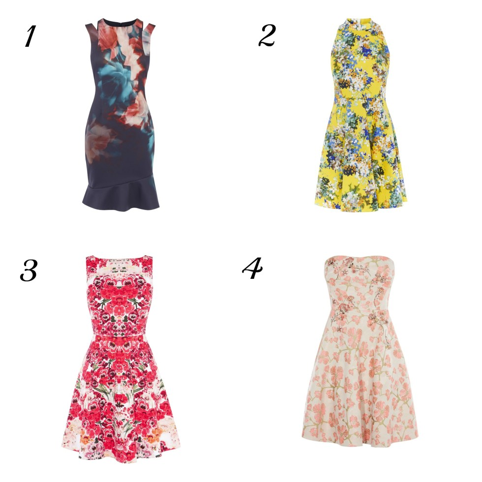 perfect dresses for a spring wedding
