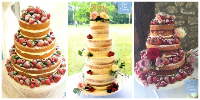 Bath Cake Company wedding cakes
