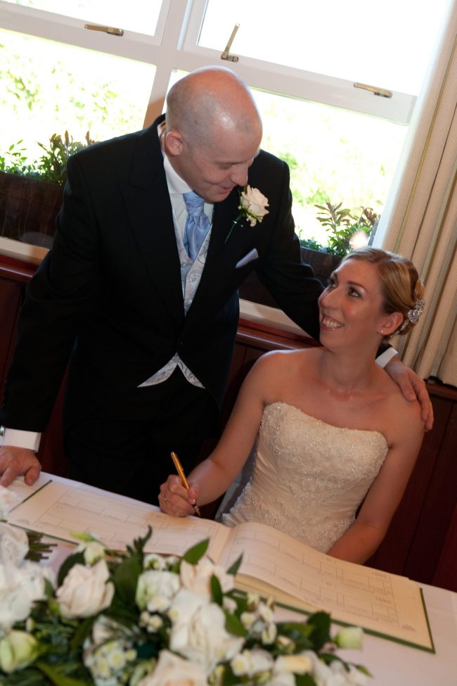 Barnsdale Hall Hotel Wedding