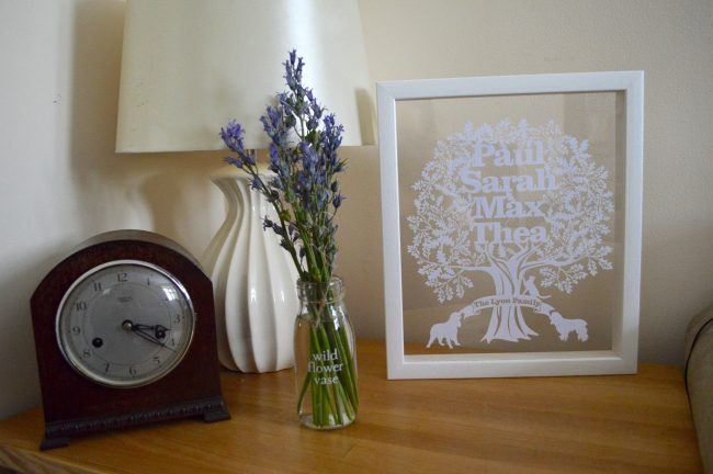 Personalised Papercuts with Twenty Fingers
