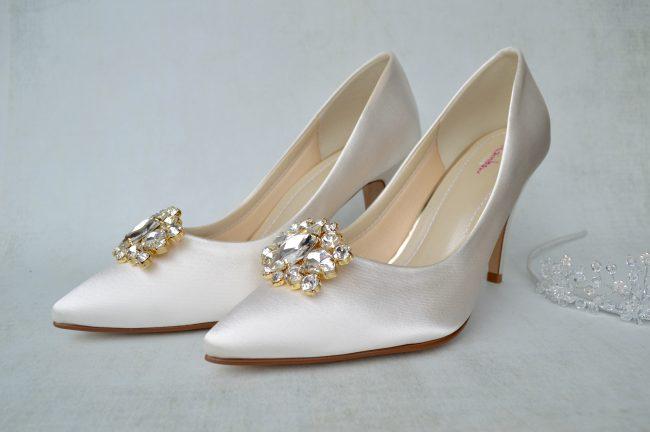Rainbow Club Dyeable Wedding Shoes