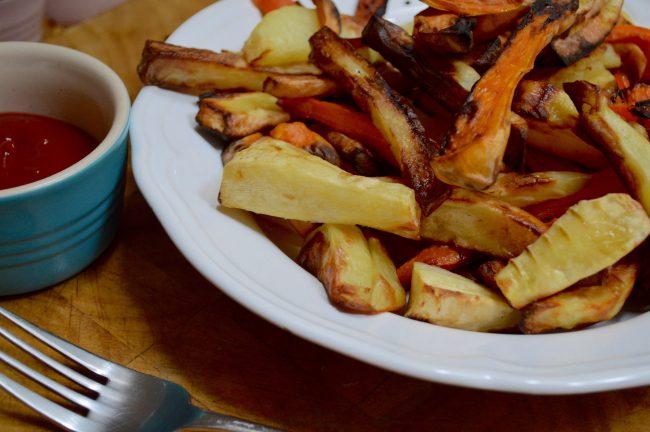 Chips four ways with VonShef Air Fryer