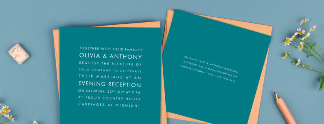 Top 10 tips for choosing your wedding invitations