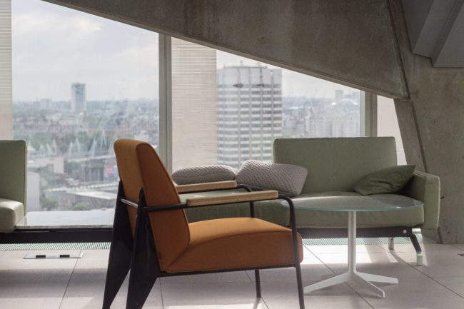 city condo living space