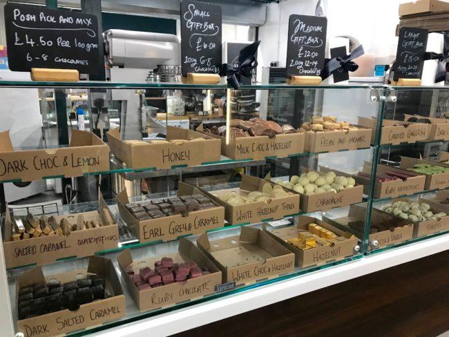 chocolates trinity indoor market Hull