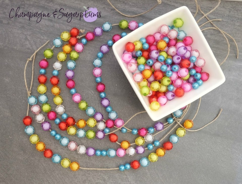 Pretty Beads for kids craft