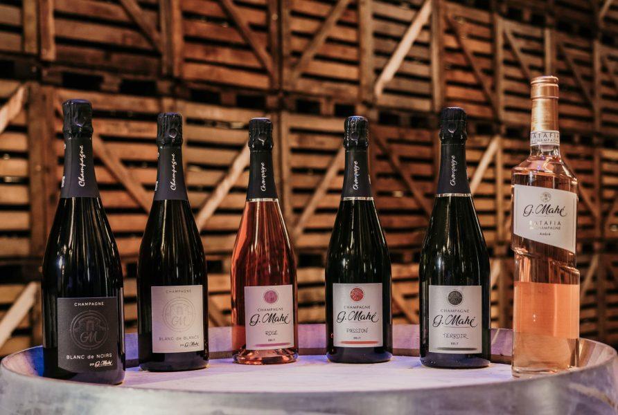 Cuvées Champagne Gwenael Mahe Champvoisy Marne