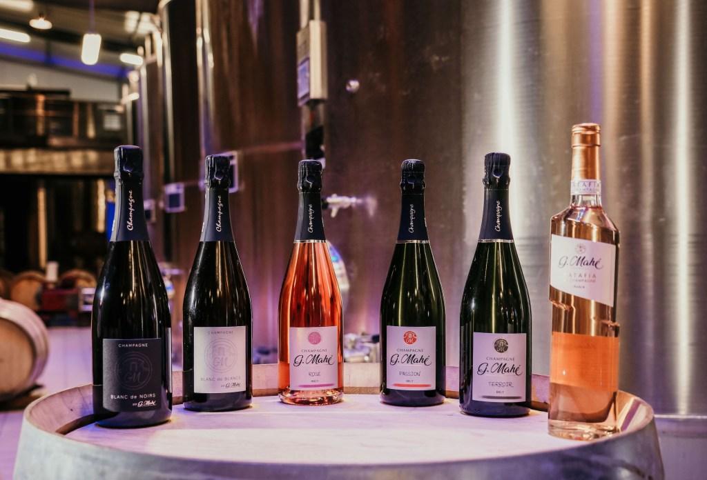 cuvées champagne G. Mahé