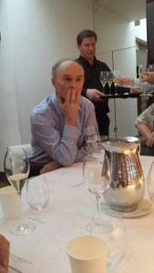 Philipp Tuck MW conducted the tasting held at Frederick's Restaurant