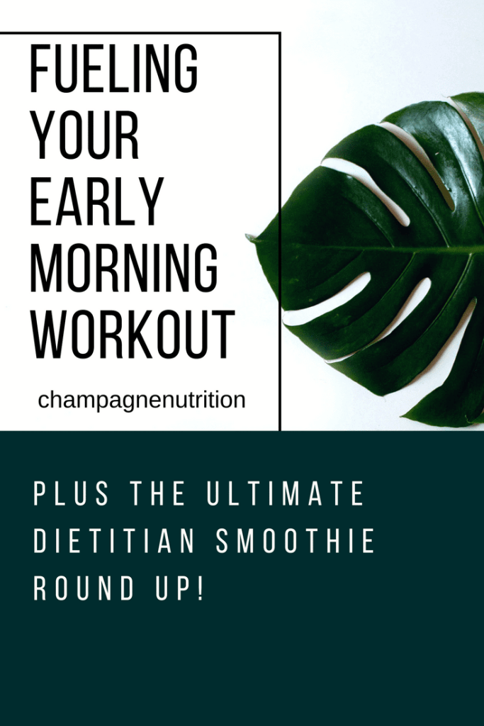 Fueling Your Early Morning Workout