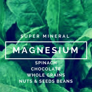 Magnesium: a Super Mineral?