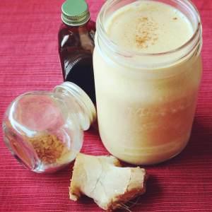 Peanut Butter Pumpkin Spice Smoothie