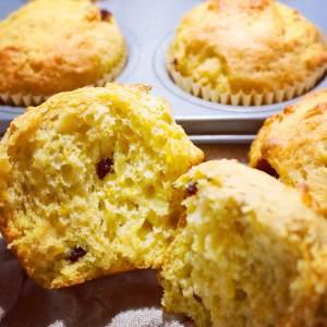 Pumpkin Cranberry Spice Muffins