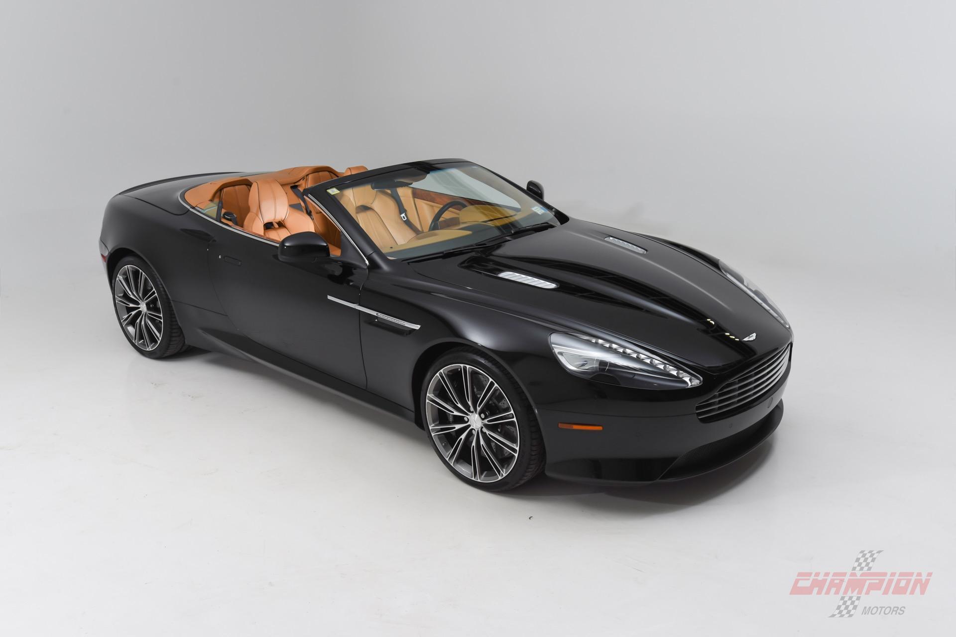2012 Aston Martin DB9 Virage Volante Champion Motors International L Luxury Classic Vehicle